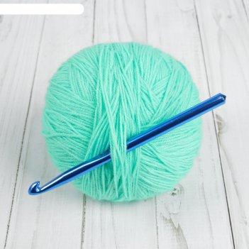 Крючок для вязания, d = 8 мм, 15 см, цвет микс
