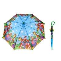Зонт детский полуавтомат цирк, d=78см