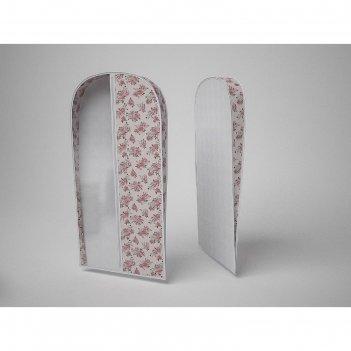 Чехол объемный для одежды большой «шебби нью», 60х130х10 см