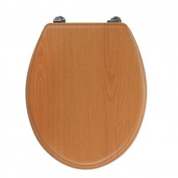 Сиденье для унитаза натуральное дерево tr-03