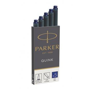 Чернильный картридж parker для перьевой ручки. для использования в перьевы