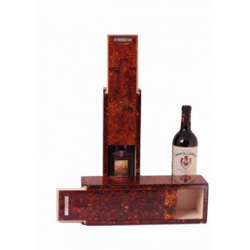 Янтарная коробка для вина
