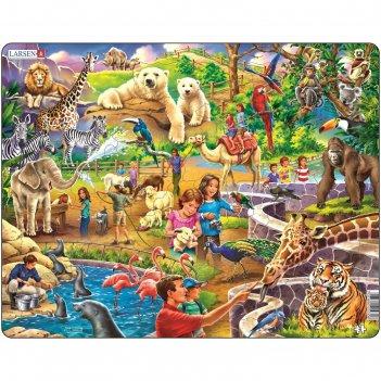 Пазл зоопарк, 48 деталей (us30)