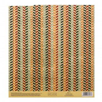 Бумага для скрапбукинга с клеевым слоем peace, 20 x 21,5 см