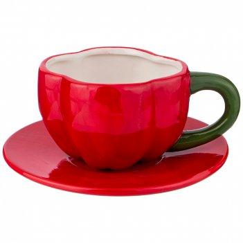Чайный набор на 1 персону peperoni 2пр.300 мл (кор=48наб.)