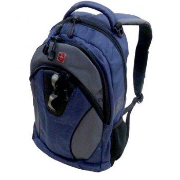 Рюкзак wenger цв. синий/серый/черный, полиэстер 900d, 32х15х46