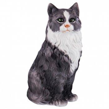 Декоративное изделие ангорская кошка 17*14см. высота=33см.