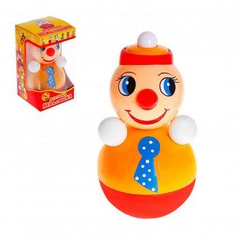Неваляшка клоун в художественной упаковке