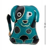 Bl-44/2 кошелёк кожаный собака