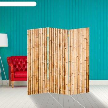 Ширма бамбук. декор 5 150 x 160 см