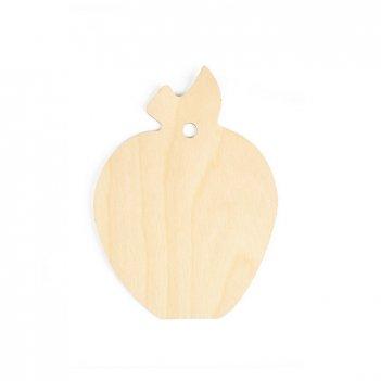 Форма для декора - разделочная доска яблоко