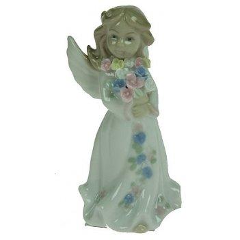 Статуэтка ангелочек, фарфор 10см
