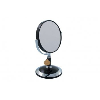 Зеркало* b4902 blk/c black настольное 2-стор. 3-кр.ув. 12,5