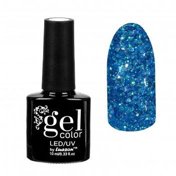 Гель-лак для ногтей искрящийся бриллиант, трёхфазный led/uv, 10мл, цвет 01