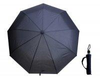 Зонт мужской автомат, ветроустойчивый, цвет темно-синий