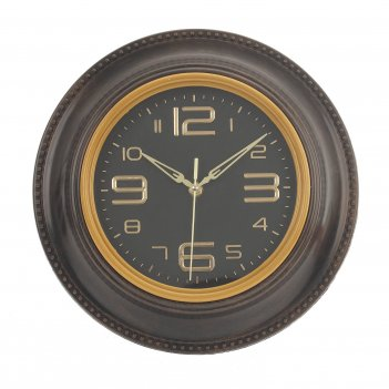 Часы настенные декоративные (1xaa не прилаг.), l30 w4 h30 см