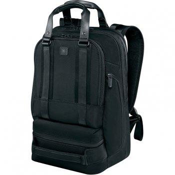 Рюкзак victorinox lexicon professional bellevue 15, чёрный, нейлон, 30x19x
