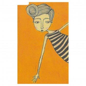 Набор для творчества филигранный рисунок - девушка