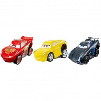 Игрушка mattel cars «машинки с автоподзаводом», микс