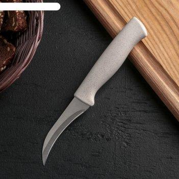 Нож для чистки овощей ринго, лезвие 7,5 см, цвет микс