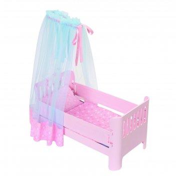 Кроватка для кукол baby annabell спокойной ночи