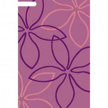 Ковёр карвинг фризе vision deluxe v806, 1,5*5 м, прямоугольный, lilac