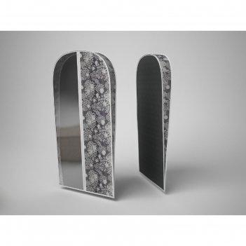 Чехол объемный для одежды малый «метелица», 60х100х10 см