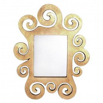 Зеркало настенное густав климт, золото