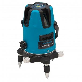 Нивелир лазерный ada instrumax constructor 4d im0104, 20/70 м, ±2 мм/10 м,