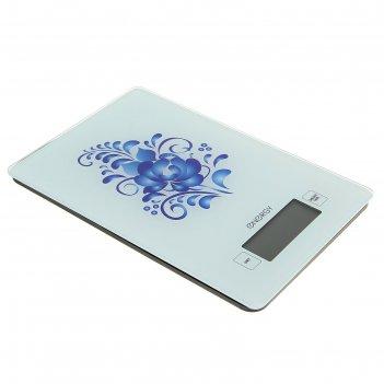 Весы кухонные электронные energy en-423, до 5 кг, lcd дисплей, автоотключе