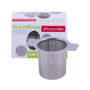 Ситечко-фильтр kamille для чая 10х6,5см km-8841