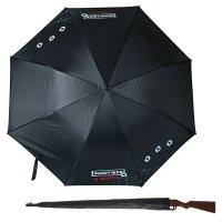 Зонт трость с ручкой ружье вооружен и опасен, d = 110 см