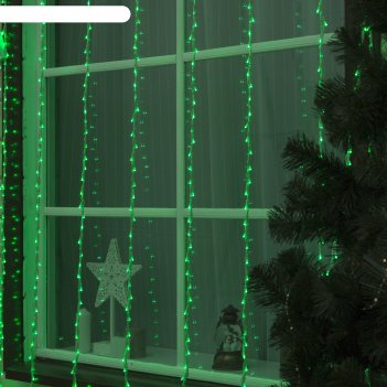 Гирлянда дождь улич. умс, ш:2 м, в:3 м, нить силикон, led-800-220v, без ко