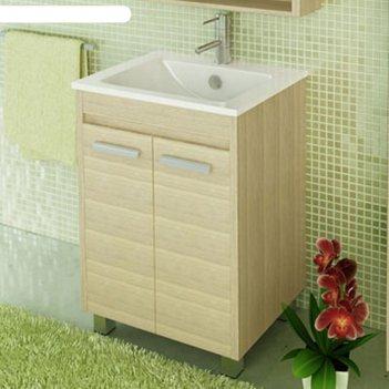 Тумба-умывальник для ванной марио-60 87 х 61 х 47 см с раковиной quadro 60