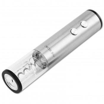 Штопор электрический circle joy cj-ekpq01, 10 вт, металл, серебристый