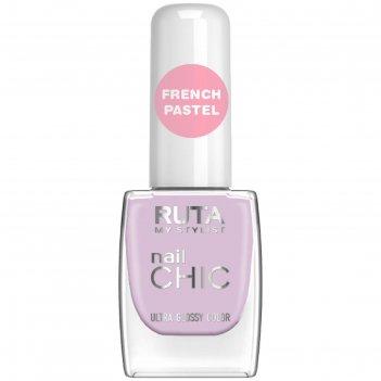 Лак для ногтей ruta nail chic, тон 78, французская сирень