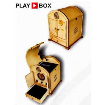 Ретро-проигрыватель victoria (cd/radio am-fm) playbox pb-10