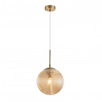 Светильник lumina, 60вт e27, цвет латунь
