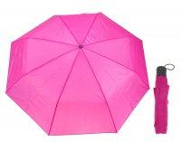 Зонт механический однотонный, цвет малиновый