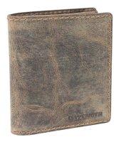 Портмоне wenger arizona, коричневый, воловья кожа, 11×2×14 см