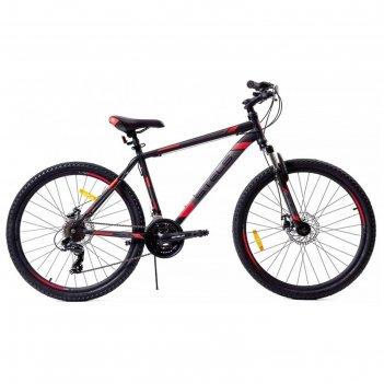 Велосипед 27.5 stels navigator-700 md 27.5 v020 , цвет чёрный/красный, раз