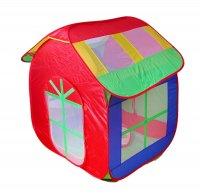 Игровая палатка цветной домик