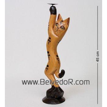 28-038 статуэтка кот рыжий