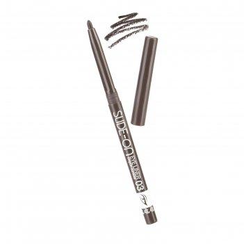 Контурный карандаш для глаз tf slide-on eye liner, тон №03 кофейный коричн