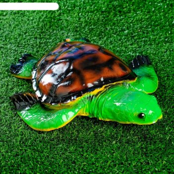 Садовая фигура черепаха 28х24см