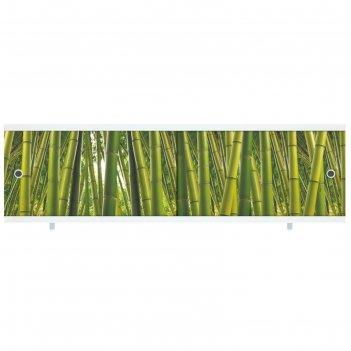 Экран под ванну ультра легкий арт бамбук, 148 мм