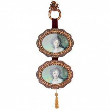 Фоторамка на 2 фото  коллекция рококо 23*2,5*63 см