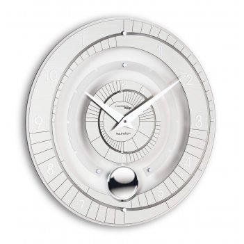 Настенные дизайнерские часы  equinotium с маятником