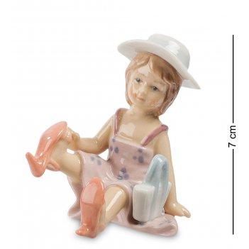 Cms-12/18 фигурка маленькая модница (pavone)