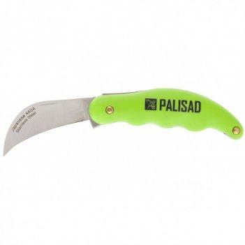 Нож садовый, 170 мм, складной, изогнутое лезвие, пластиковая эргономичная